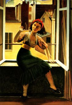 Balthus, The Fear of Ghosts, 1933.