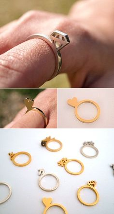 TheCarrotbox.com modern jewellery blog : obsessed with rings // feed your fingers!: Yuki Nagao / Satoru