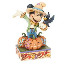 Jim Shore Disney Traditions Scarecrow Mickey Figurine