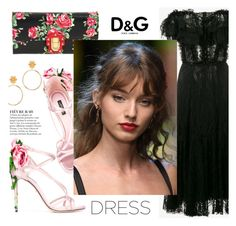 """Dreamy Dresses!!"" by joliedy ❤ liked on Polyvore featuring Dolce&Gabbana, Anja and D&G"