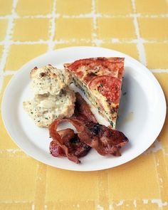 Brown Sugar-Glazed Bacon -- Serve with a savory quiche or something ...