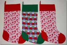 Hammer & Thread: Tutorial: The easiest Christmas Stocking you'll ev...