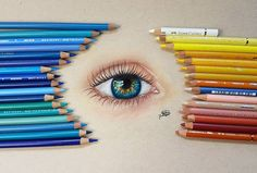 Prismacolor, Polychromos, Faber Castell, Colored Pencils, Eyes, Drawings, Youtube, Instagram, Art