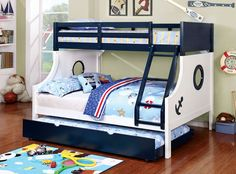 White Bunk Beds Twin Over Full . 12 New White Bunk Beds Twin Over Full . Miami I Collection White Finish Full Over Full Bunk Bed with Front Full Bed, Twin Full Bunk Bed, Solid Wood Bunk Beds, Bunk Bed Designs, Kids Bunk Beds, Loft Spaces, Bed Mattress, Nautical Theme, Beach Cottages