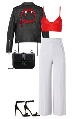 """""""Untitled #24"""" by averymorales on Polyvore featuring Yves Saint Laurent, T By Alexander Wang, Roland Mouret, Alaïa and Valentino"""
