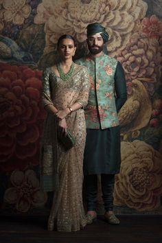 Beautiful Hand Embroidered Saree