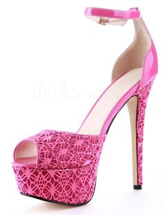 Sweet Pink Mesh Knotted Stiletto Heel Fashion Dress Sandals