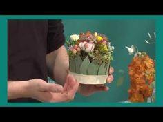 Florale Tischdekorationen mit Produkten von Smithers-Oasis - YouTube