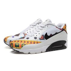 size 40 8c9d1 ddd35 Nike Air Max 90 HYP PRM Dragon and Phoenix Men s Running Shoes White