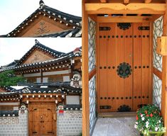 There is a hanok town in Seoul, but the largest and most impressive is in Jeonju. In Jeonju you can book accomodation in one of these houses. 한옥마을