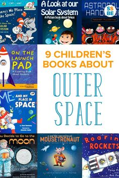 Does your child enjoy space, planets and the universe? Here are 9 children's books about outer space to read with your kids.
