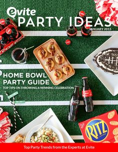 Host a winning Home Bowl party using these top tips and tricks to be the MVP of game day.