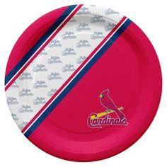 St. Louis Cardinals Disposable Paper Plates