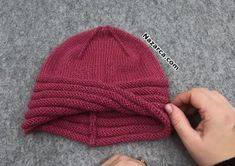 Lace Knitting, Knitting Stitches, Knitting Designs, Knitting Patterns, Crochet Gifts, Easy Crochet, Crochet Lace, Crochet Bracelet, Crochet Purses