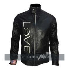 Love Tom Angels Airwaves Delonge Leather Jacket