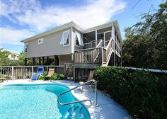 Beautiful Home with Private Pool Just Steps from Beach