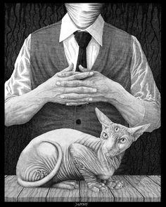 'El Gato' by baconworm on DeviantArt. °