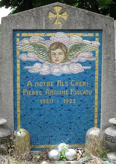 beautiful headstone. Here is our beautiful handsome son, Philip Anthony