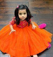 Mom and Baby Mom And Baby Dresses, Baby Girl Party Dresses, Cute Girl Dresses, Baby Outfits, Kids Gown Design, Baby Dress Design, Kids Frocks Design, Baby Lehenga, Kids Lehenga