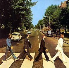 The Beatles - Abbey Road.The last album the band would record. Let It Be was the last one released.