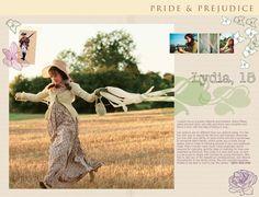 Pride and Prejudice 2005  - online companion - Lydia Bennet