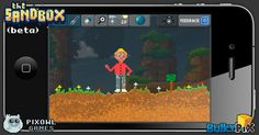 Guy in the garden  #pixelart #sandbox #pixel #art #ios #iphone