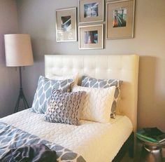 West elm guest room