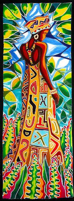 African Queen 2 Canvas Print / Canvas Art by Lee Vanderwalker
