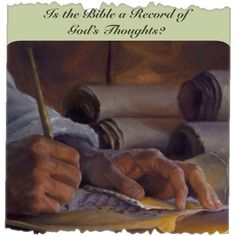 """⊱✿ Is the Bible a Record of God's Thoughts? ✿⊰   ✬  ✬JW.org > Bible Teaching > Bible Questions Answered > Bible > """"Is the Bible a Record of God's Thoughts?"""" ✬ ✬ JW.org has the Bible in 300+ (including sign) languages to read, listen or download. It also has bible study aids to use along with our bible."""