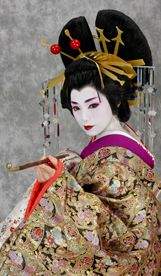 At Studio Mon Katsura in Japan, you can get professional photographs of yourself dressed, made up and styled as a geisha.