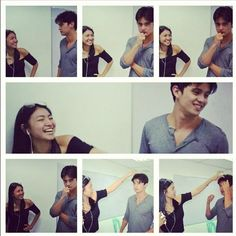 Too much sweetness in this photo JaDine Eight Months To Infinity