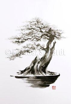 contemporary sumi-e painting - Google Search