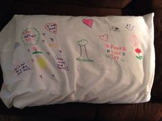 """The """"safe place"""" or """"peaceful pillowcase"""" project is something I have found helpful for all ages (FYI these pillow pictures are courtesy of my two youngest sisters who made …"""