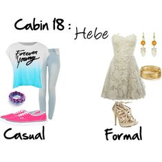 """""""Cabin 18: Hebe"""" by idmiliris on Polyvore"""
