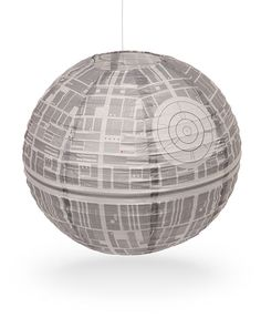 Nothing Says Romance Like The Soft Light From a Death Star Paper Lantern