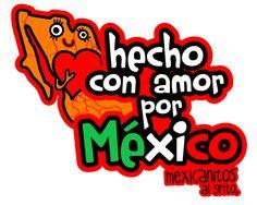 Mexicanitos al grito hecho con amor por México.  www.mexicanitosalgrito.com
