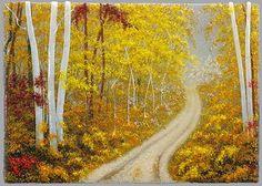Fall Landscape - Donna Sarafis