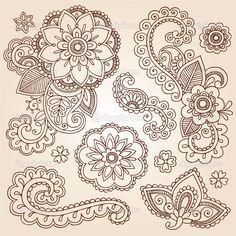 Mandala Tattoo Designs | ... Design Elements, Mandala, and Page Corner Design Vector Illustration