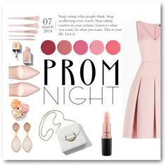Prom night by oriana-valentina-444 on Polyvore featuring BCBGMAXAZRIA, Dina Mackney, Kjaer Weis, MAC Cosmetics, Forever 21, Yves Saint Laurent, Prom, chic, PROMNIGHT and polyvoreeditorial