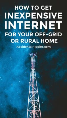 Living off the grid doesn't mean primitive. We run small businesses, homeschool, and stream music and movies in our off-grid home. Here's how we get inexpensive off-grid internet. Survival Tips, Survival Skills, Fiber Internet, Abc Mouse, Off Grid Cabin, Internet Providers, Back To Basics, Off The Grid, Alternative Energy