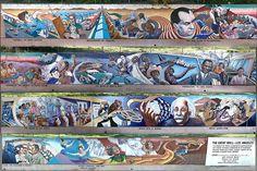 Great Wall of Los Angeles, Judith Baca