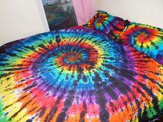 Custom Tie Dye Duvet Cover Set, tie dye duvet, tye dye duvet, comforter set, bed set                                                                                                                                                                                 More