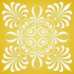 Palmette Stencil