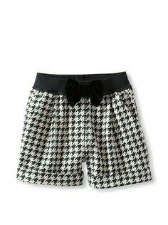 50% OFF Monnalisa Girl's Houndstooth Short