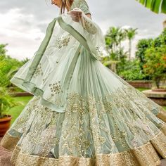 """""""PRINCES DIARIES - A royal new collection by @Pratyushagarimella featuring subtle pastel shades with a contrasting gold embroidery. #newdesigner…"""""""