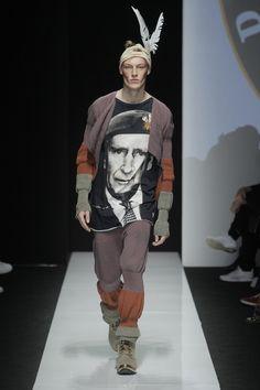 Look 31 at Vivienne Westwood #AW1516 MAN