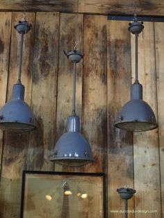 Rare Lampe O C White Industrielle fixation murale applique