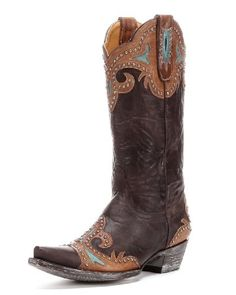 Old Gringo Women's Taka Brown Stud L814-1 Boots Size 7 >>> You can find out more details at the link of the image.