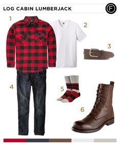 Taylor Lautner's Log Cabin Lumberjack Look