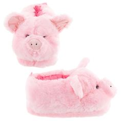 df6bf887db3 Pink Pig Animal Slippers for Women and Men